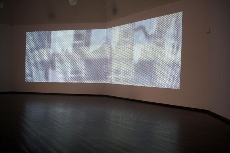 Bus250S – Le Corbusier misser med øjnene, film loop. 2011