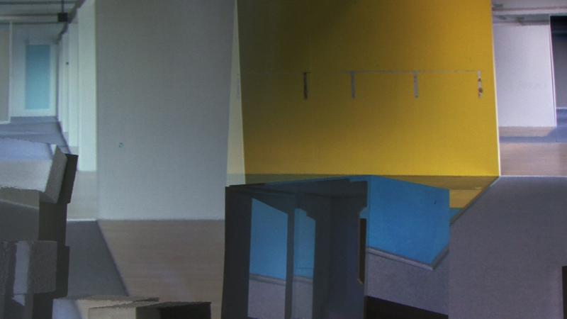 Opaque I – II, film loop. 2013