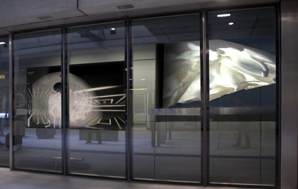 Metro Station Enghave Brygge, København. 2023